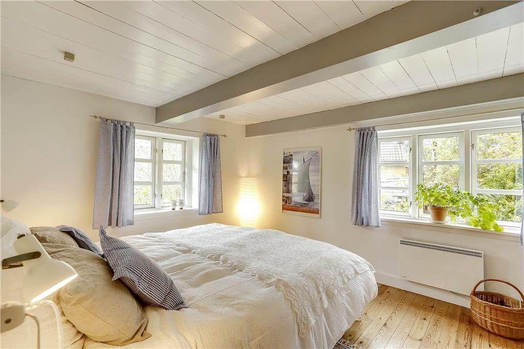 Schlafzimmer in einem Ferienhaus in Rörvig Romantische - schlafzimmer romantisch