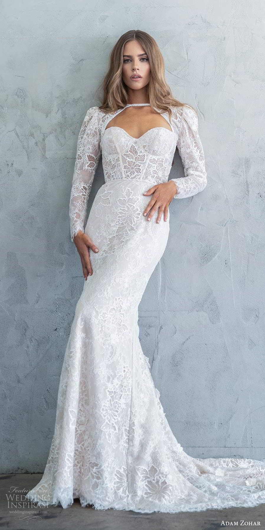 "Adam Zohar Fall 2020 Wedding Dresses — ""Kai"" Bridal Collection | Wedding Inspirasi – GÜZEL KADIN VE MODA"