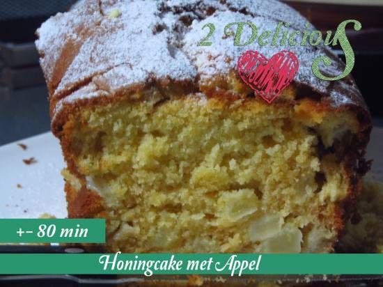 honingcake met appel