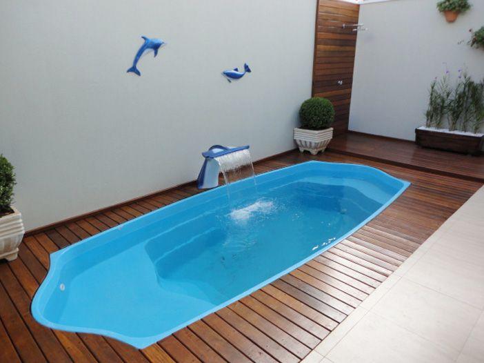 Projetos de piscinas de fibra Piscinas, Albercas y Casas