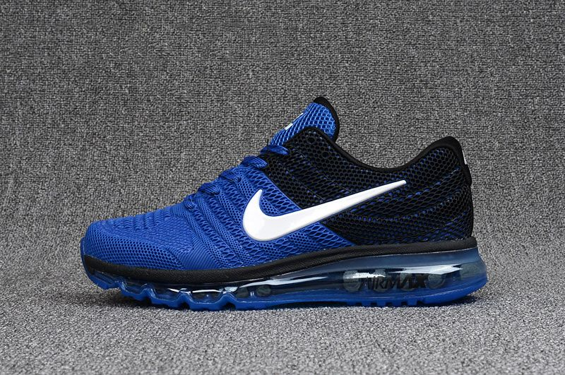 Men's Nike Air Max 2017 KPU Shoes Shoes Royal BlueBlack