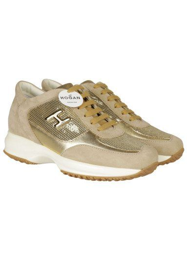 Clearance Cheapest Price Footlocker Finishline Cheap Price Hogan Interactive Beige Suede & Leather Sneakers 1AWJA5w