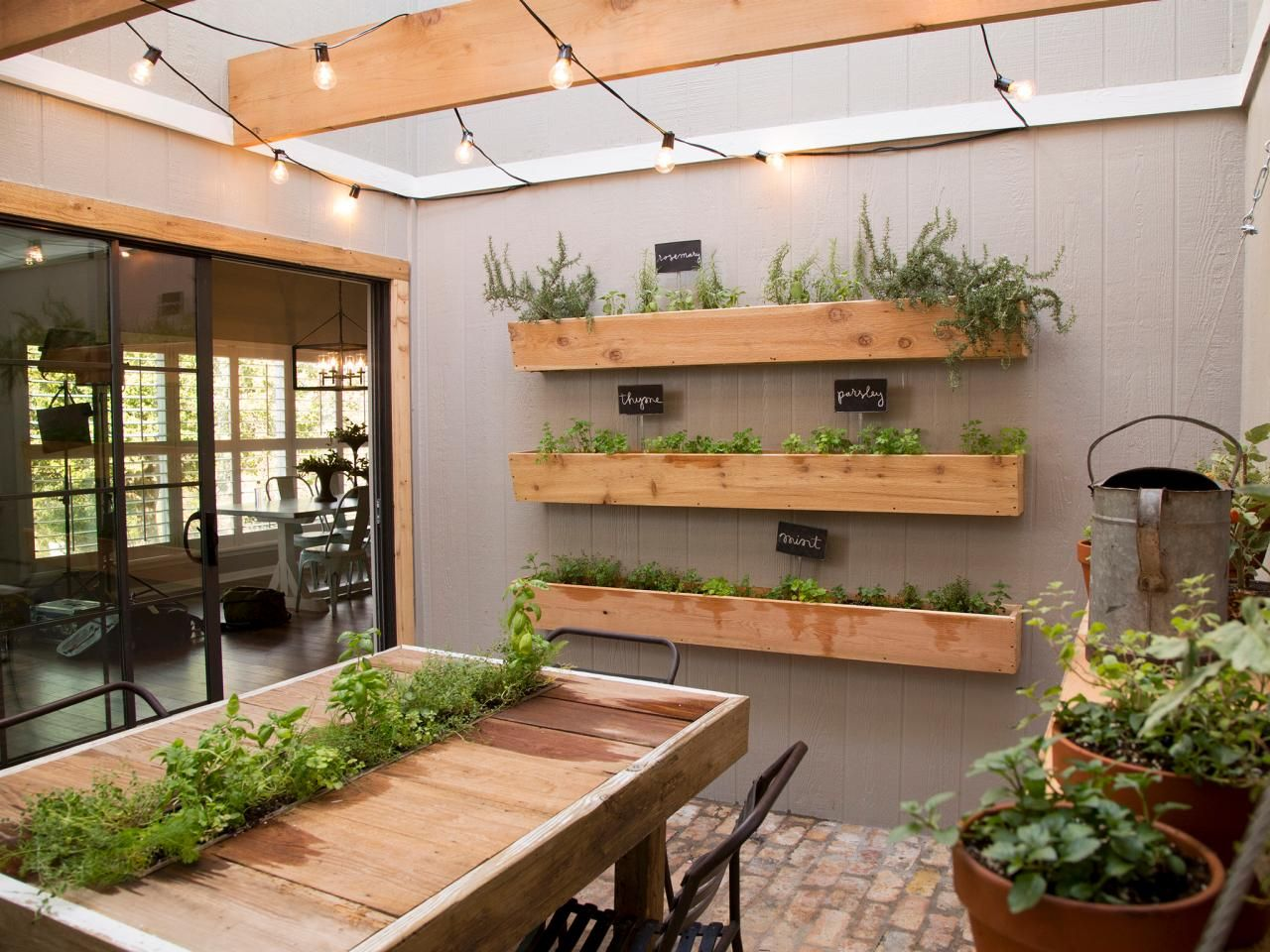Herb Garden Kitchen 9 Design Tricks We Learned From Joanna Gaines Gardens The