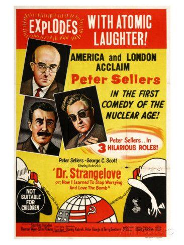 Dr. Strangelove, Australian Movie Poster, 1964 Poster at AllPosters.com