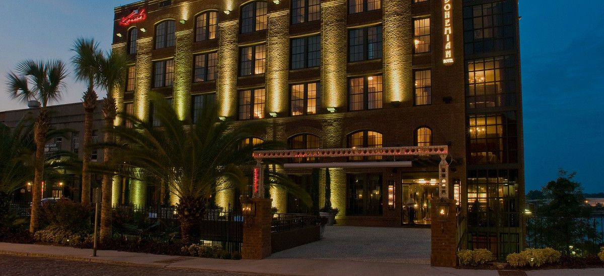 Explore the sophisticated accommodations at the Bohemian
