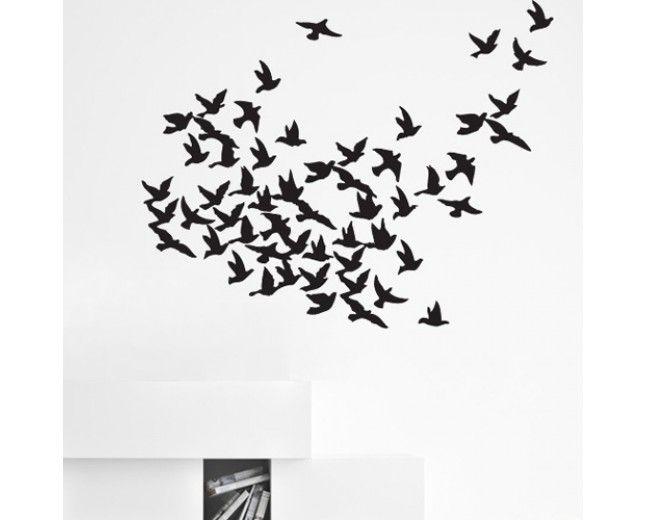 Стикери - Декорация от стикери - Ято птици