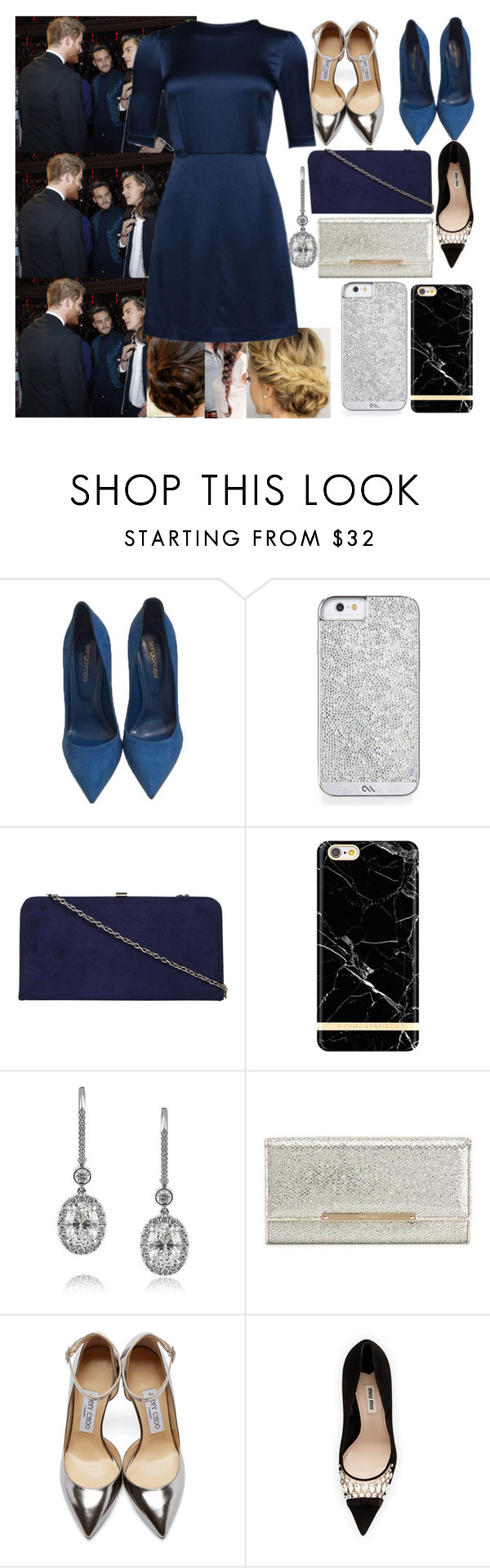 """""""Meeting Prince Harry With Harry (and others members of One Direction) Part 3"""" by angelbrubisc ❤ liked on Polyvore featuring Sergio Rossi, Dorothy Perkins, Mark Broumand, Jimmy Choo, Miu Miu and Marc by Marc Jacobs"""