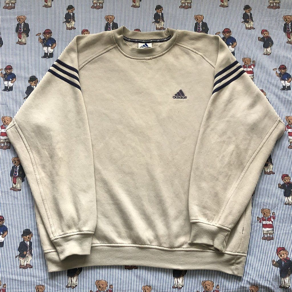 adidas 1/4 zip fleece vintage
