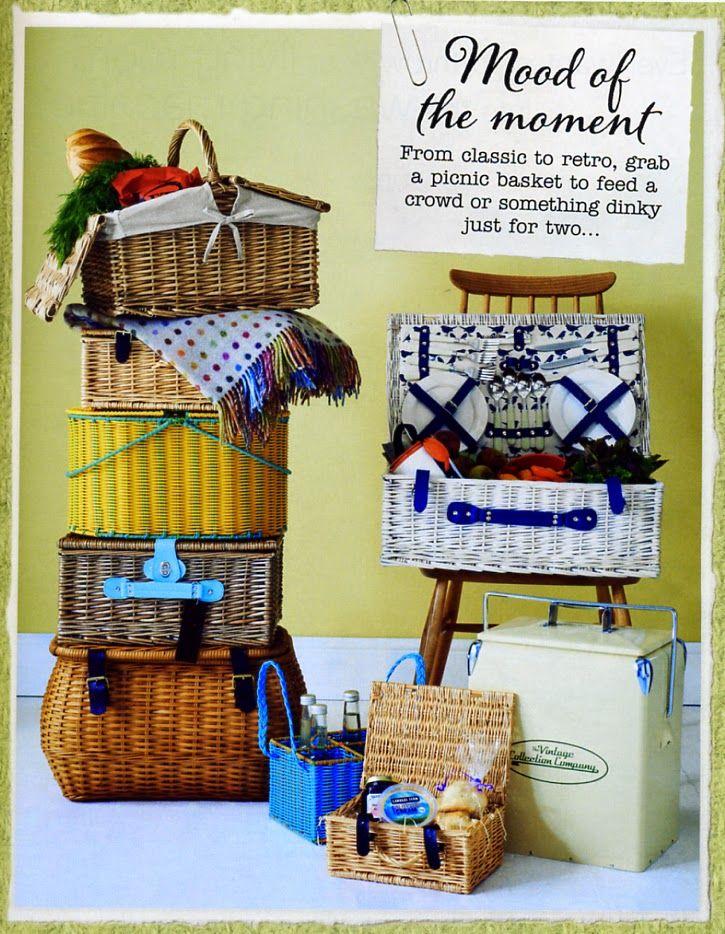 cestas de Picnic (Country Homes & Interiors)