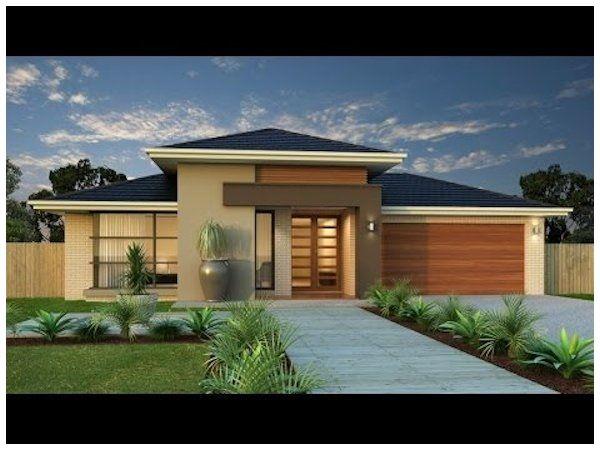 Dise os de frentes de casas modernas fachadas for Arquitectura moderna casas pequenas