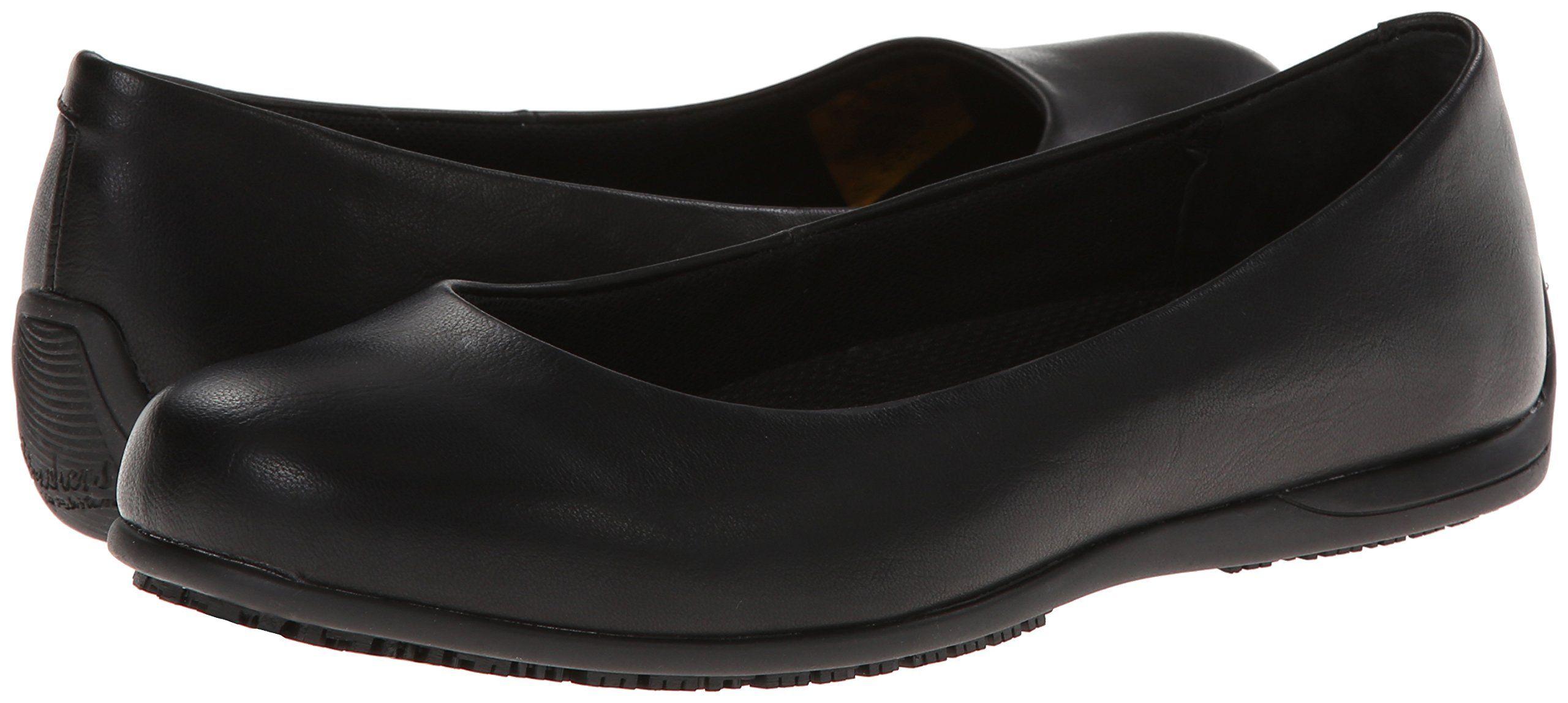 Skechers For Work Women S Flattery Transpire Work Shoe Black 8 5