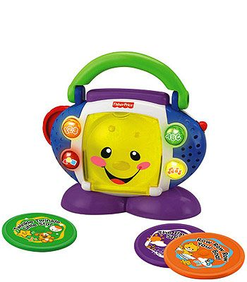 Fisher Price Laugh Learn Cd Player Fisher Price Toys