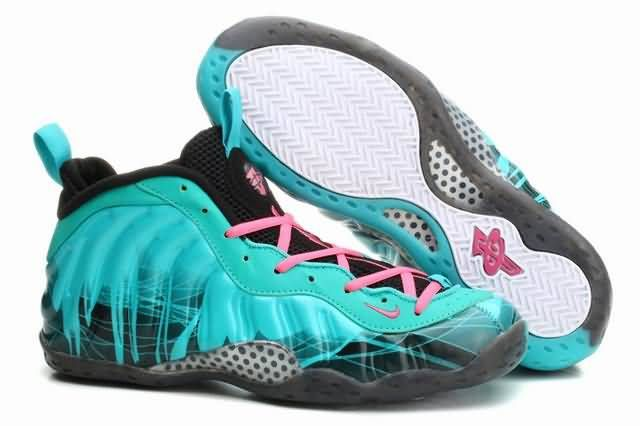 8290047ad1a Mens Air Foamposite One Anfernee Hardaway Shoes Pure Crystal Nike ...