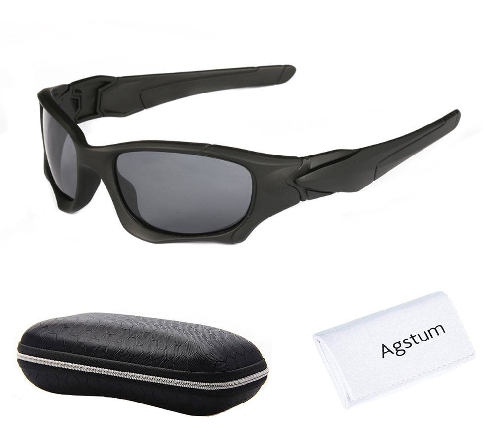 7212cc417e5 Agstum+Sports+Pilot+Aviator+Mens+Womens+Goggles+Polarized+Fishing+Driving+ Glasses+Fit+Over+Sung