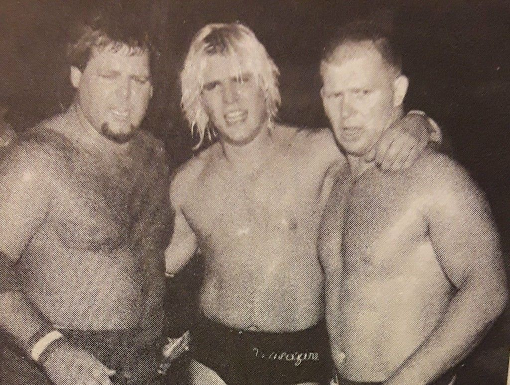 Jerry Lawler Tommy Rich And Bob Backlund At A Pro Wrestling Usa