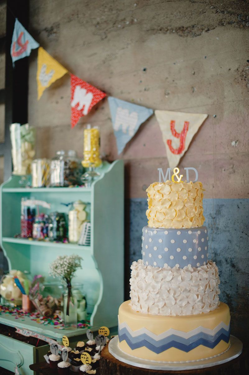 Dig the pastels with the pop of red weddings rockabilly retro