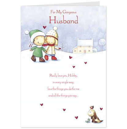 Husband Christmas Cards Uk.Shop Christmas Card Ideas Hallmark Greeting Cards