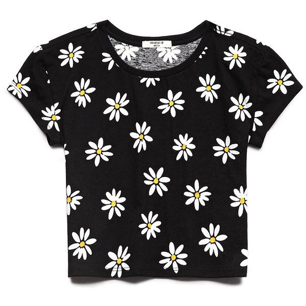eb7dc676c13 FOREVER 21 GIRLS Daisy Darling Top (Kids) ($5.46) ❤ liked on Polyvore  featuring kids