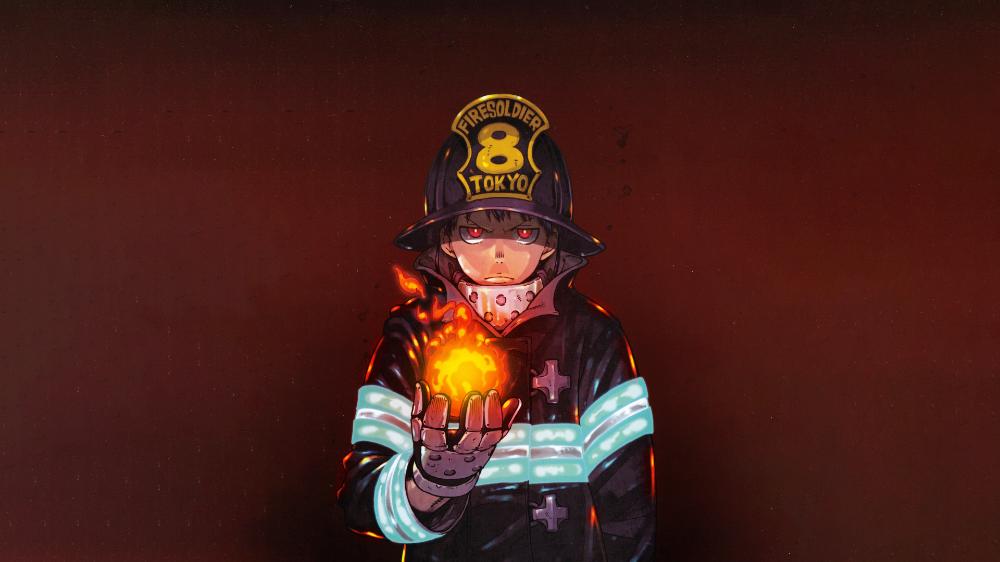 Anime Fire Force Wallpaper Anime Hd Desktop Wallpaper Shinra Kusakabe