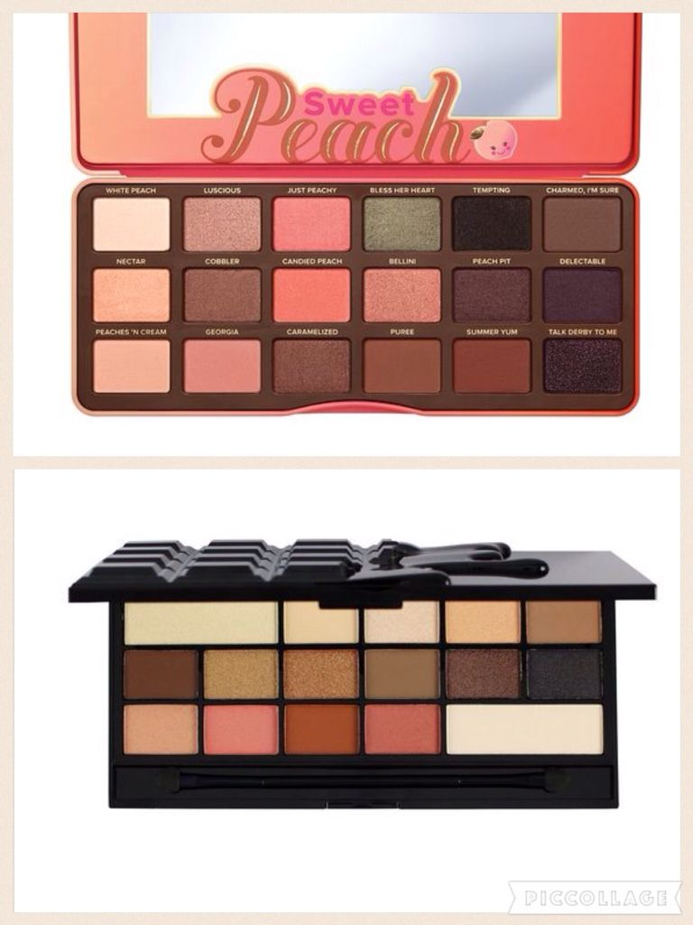 Dupe For The Too Faced Sweet Peach Palette The Makeup Revolution I