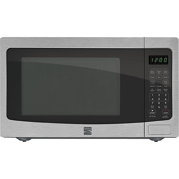 Kenmore 73163 1 6 Cu Ft Countertop Microwave Stainless Steel