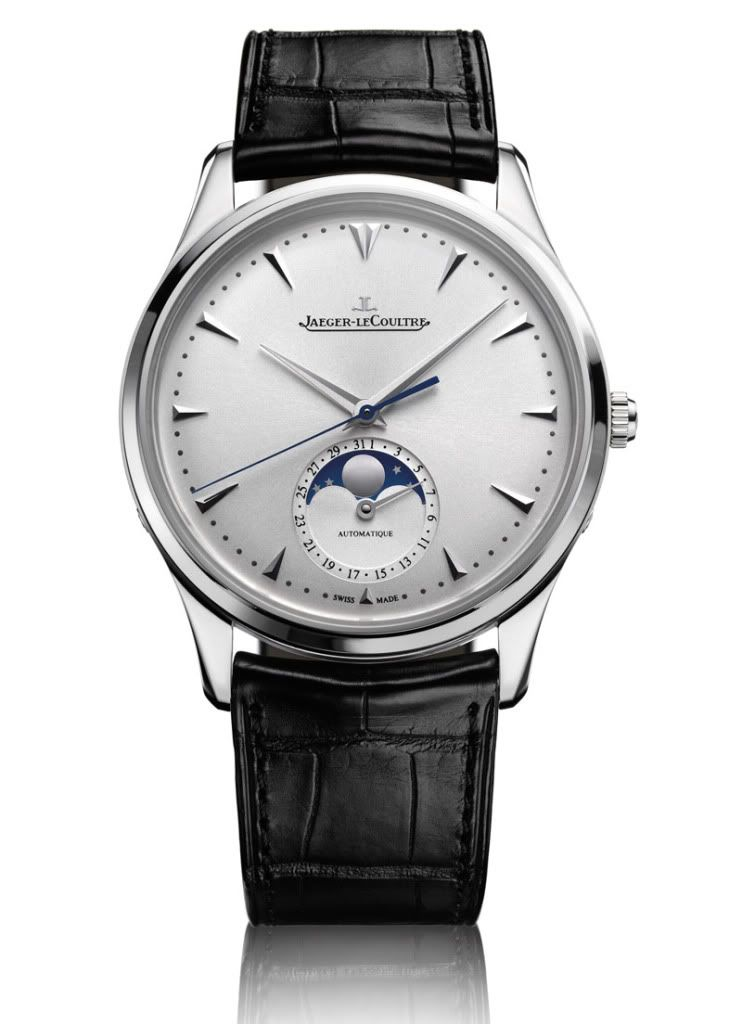 Jaeger-LeCoultre Master Ultra Thin Moon and Master Eight Days Perpetual 40 #monochromewatches