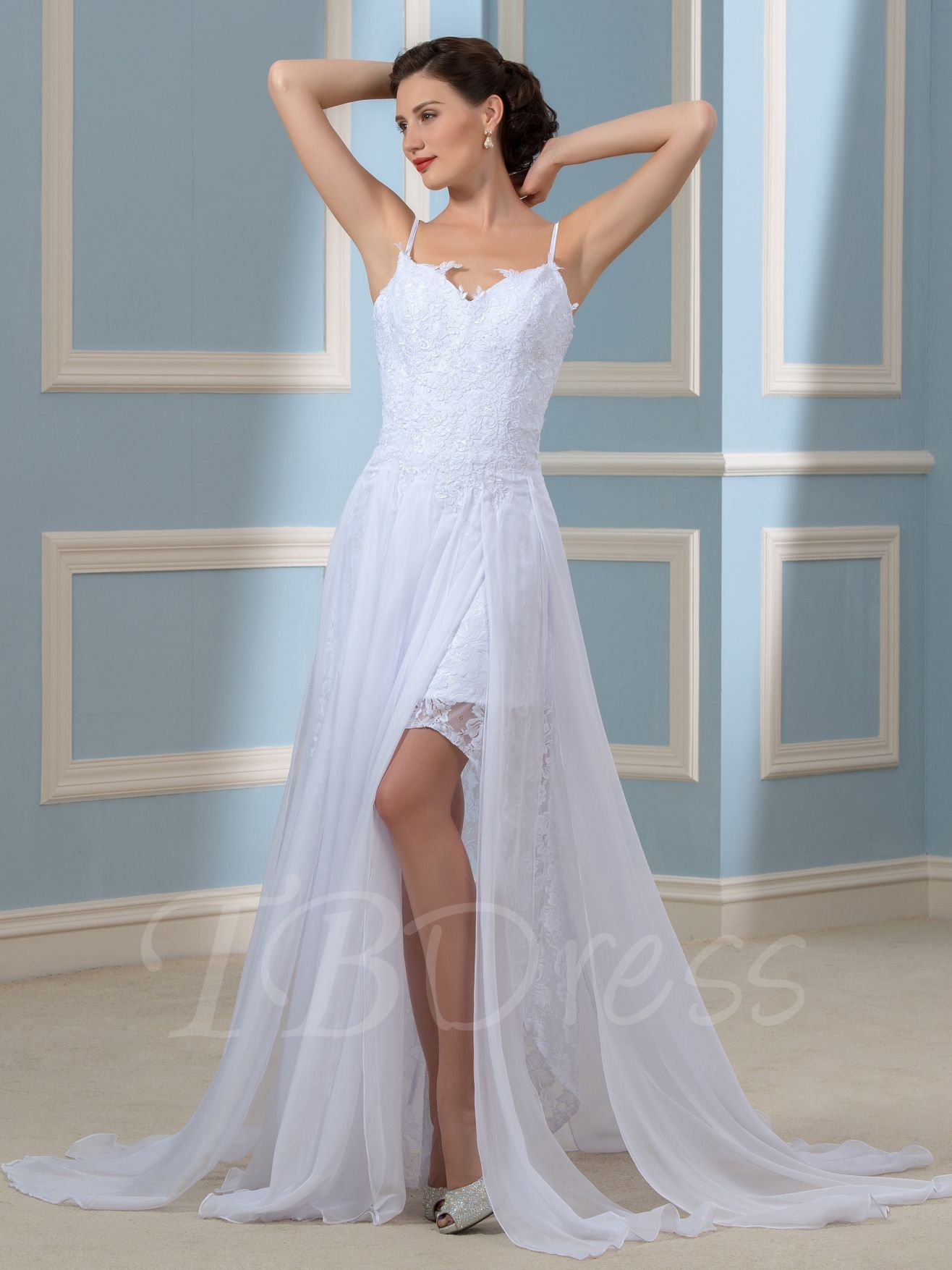 spaghetti strap beach wedding dress womenus dresses for