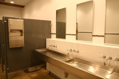 Commercial Bathroom Design Bathroom Pinterest Bathroom Designs - Commercial bathroom cabinets