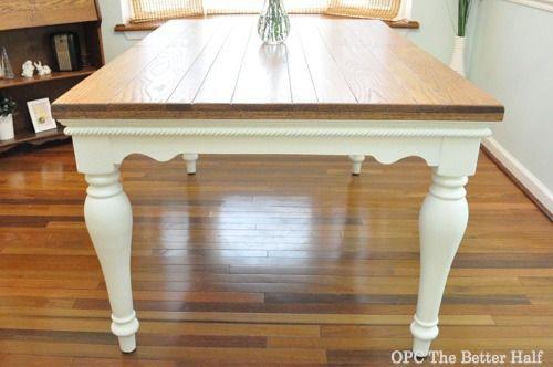 Diy Farmhouse Style Dining Table Opc The Better Half