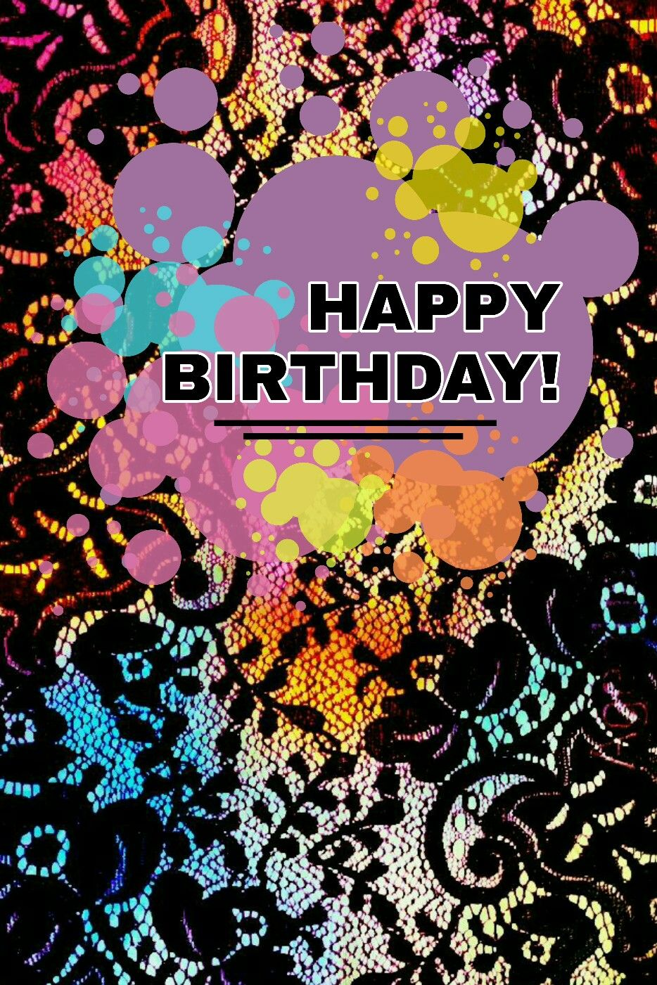 Happy Birthday Lace wallpaper, Lace iphone wallpaper