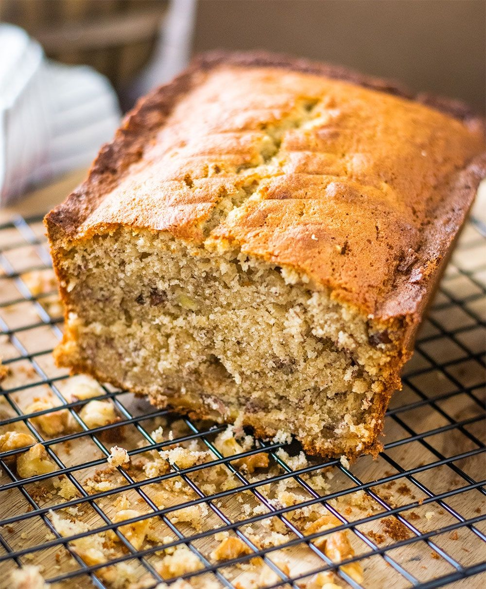 The Best Banana Bread Recipe Starts With Brown Sugar Is Loaded With Bananas Hints Of Vanilla All Combined Into In 2020 Best Banana Bread Banana Bread Recipes Recipes