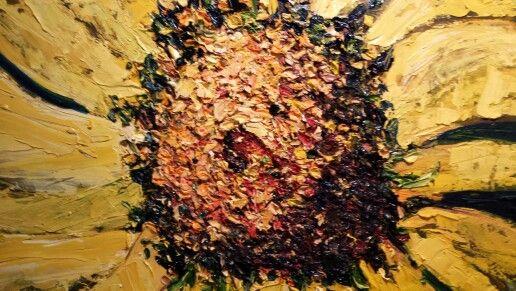Oils showing textures Www.sherryharradence.artistwebsites.com