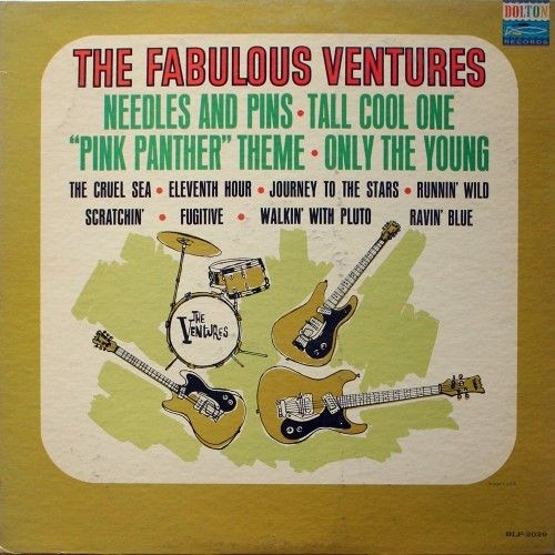 The Ventures - The Fabulous Ventures (July 18th, 1964) this was their 15th…
