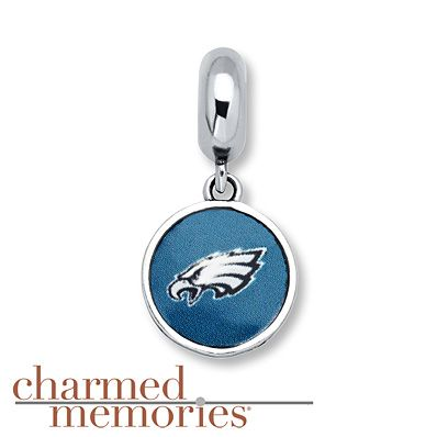 Charmed Memories LA Chargers Charm Sterling Silver My1QMCwHR