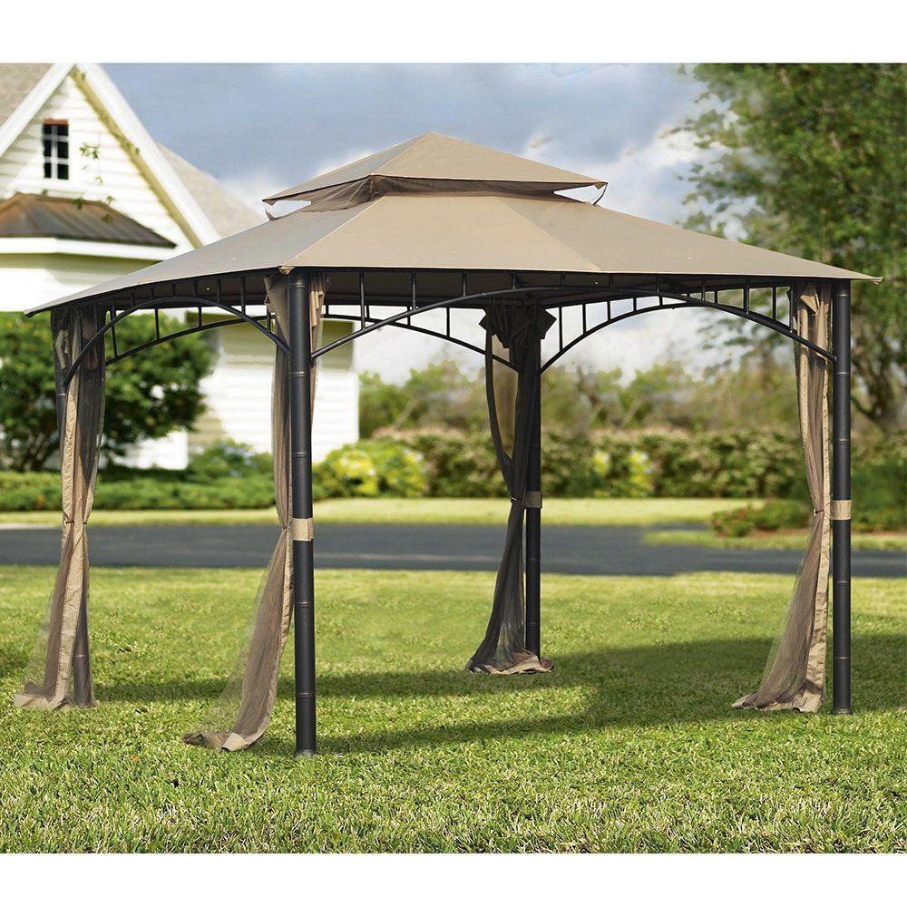 Amazon Com Sunjoy Replacement Mosquito Netting For Madaga Gazebo Garden Outdoor Canopy Outdoor Gazebo Outdoor Shade