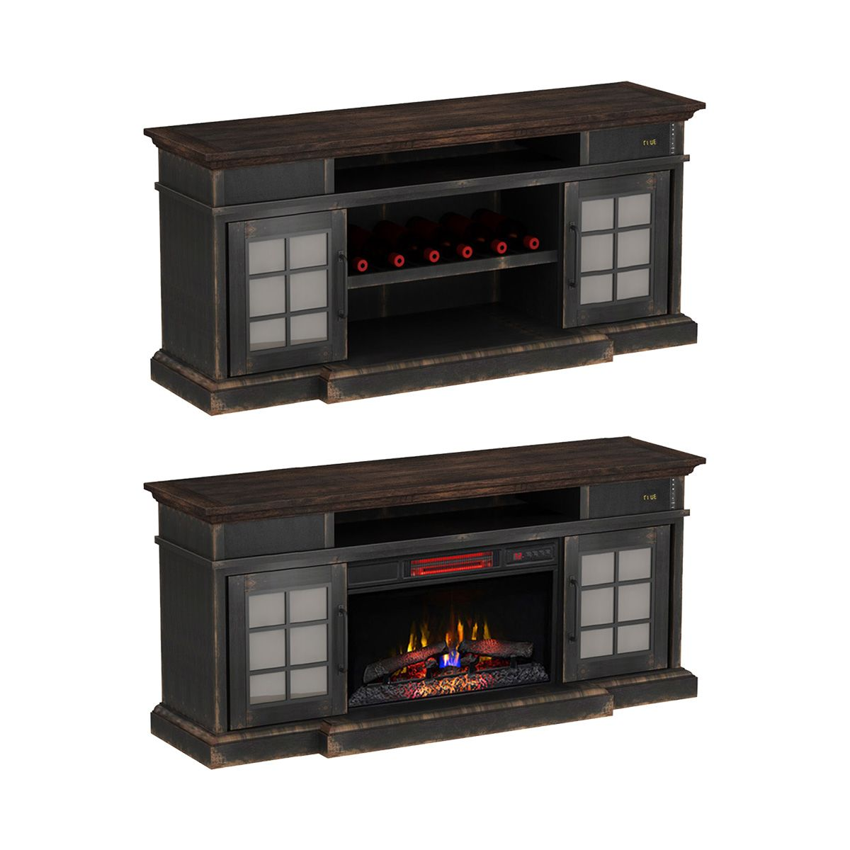 Bluetooth Compatible Tv Stand With Optional Classicflame