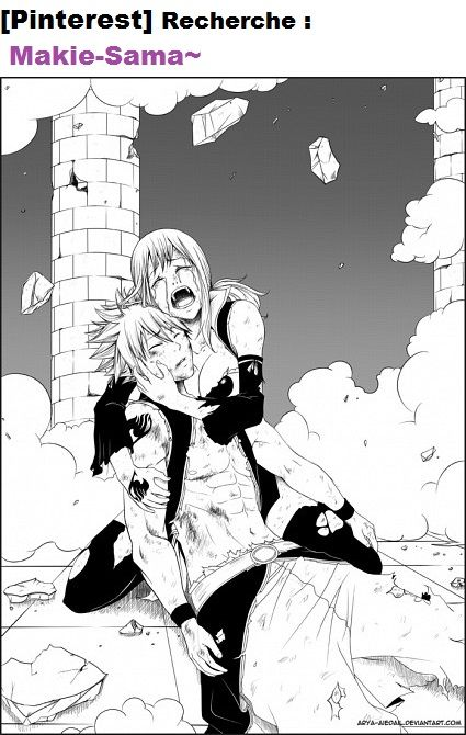 Fairy tail :,( <-- Is this actually in the manga? if it is, i'm going to die a little inside.... </3