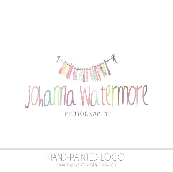 Pre Made Photography Watermark Business Logo by MariaBPhotoShop ...