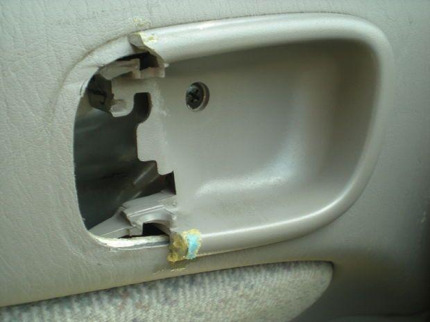 Replace Interior Door Handle 1998 2002 Toyota Corolla Door Handles Interior Replacing Interior Doors Door Handles
