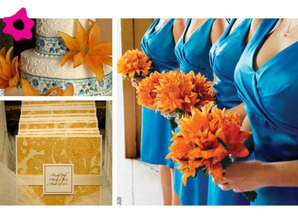 Combinaci n con color turquesa decoraci n para boda for Combinaciones con azul