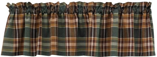 Wood River Valance 474 47 In 2020 Wood River Valance Curtains Valance