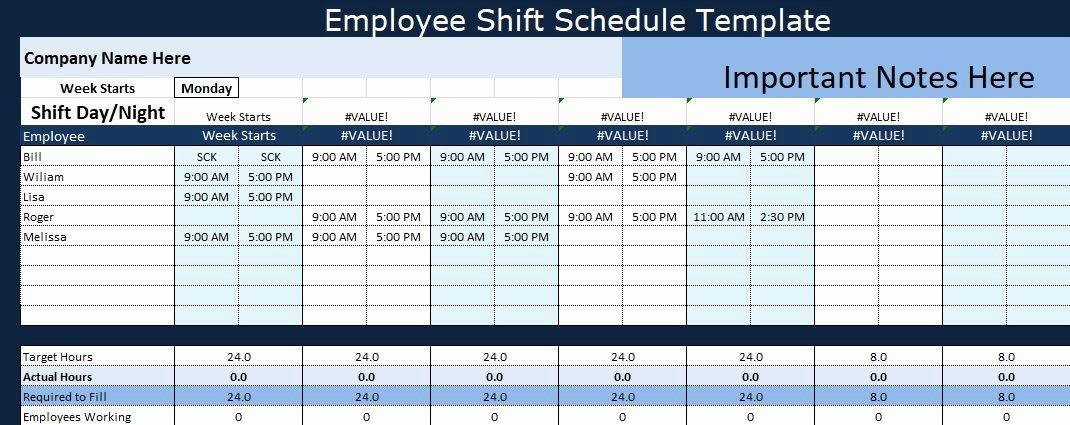 Free xls (excel) and pdf employee work schedule templates. Monthly Shift Schedule Template Inspirational Employee Shift Schedule Generator Excel Template Ex Shift Schedule Schedule Template Project Management Templates
