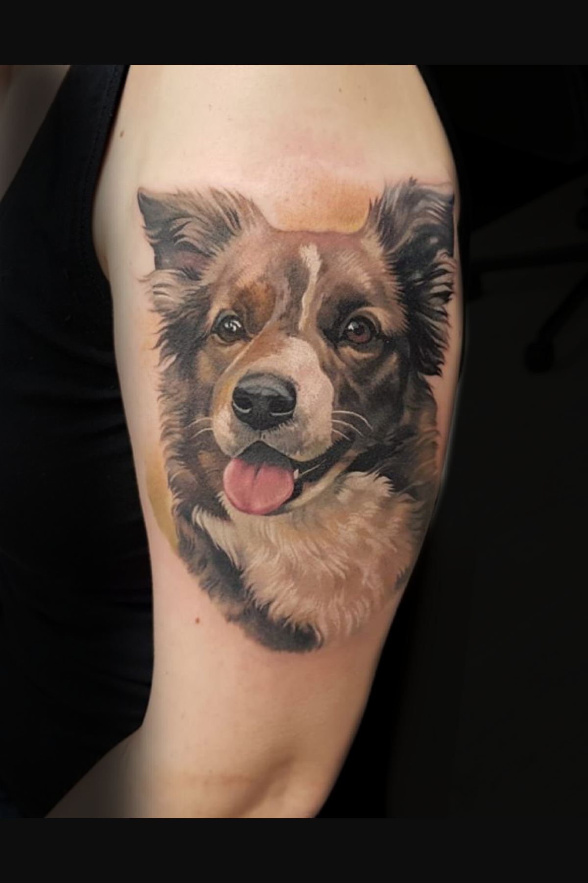 Pin By Melissa Kuhn On Doggo Tribute In 2020 Dog Tattoos Tattoo