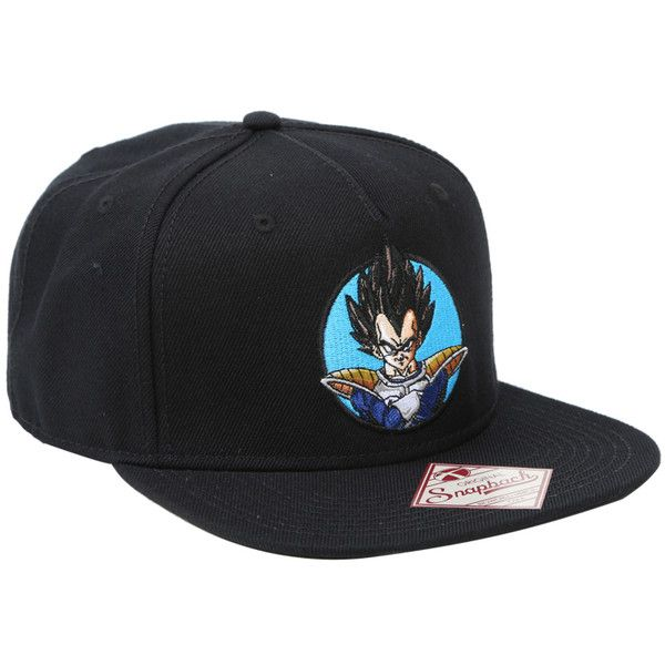 0cc70cecedc Funimation Dragon Ball Z Vegeta Snapback Hat ( 15) ❤ liked on Polyvore  featuring accessories