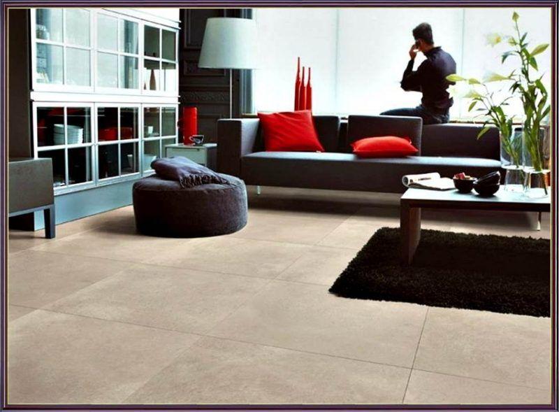 Einzigartige Gestaltung 19 Ideen für Fliesen im Wohnzimmer Boden