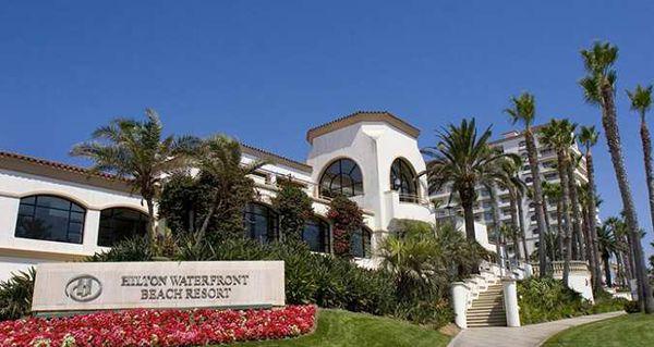 Hilton Waterfront Beach Resort #weddingofficiantLosAngeles