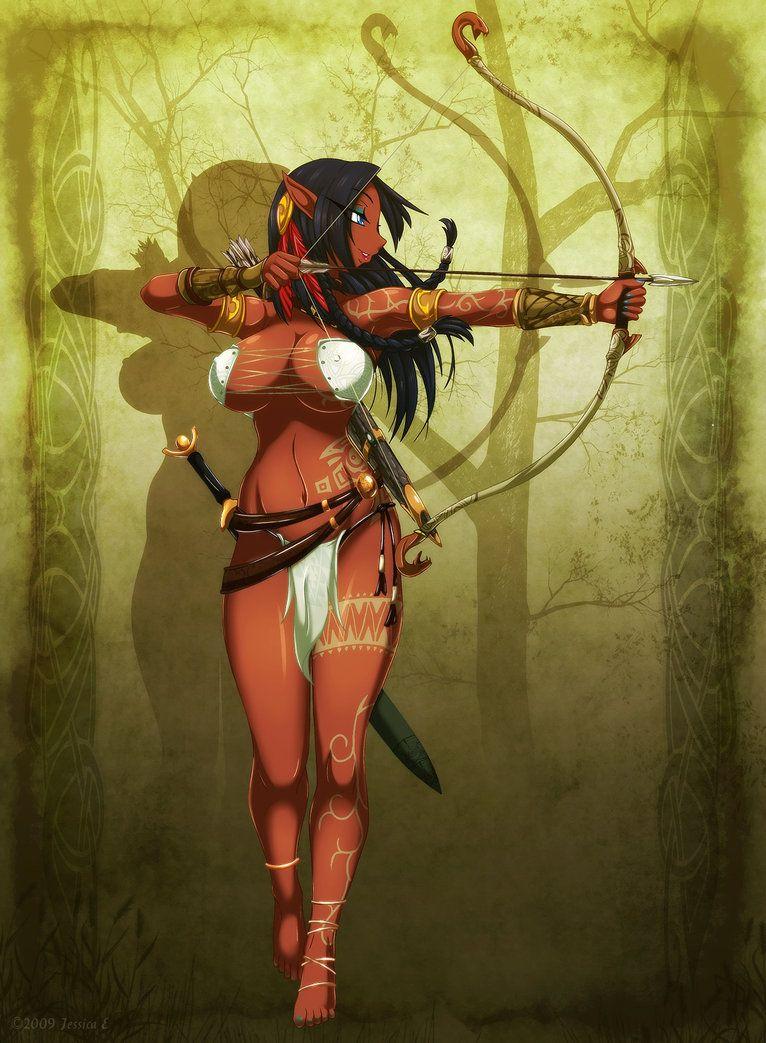naked-wood-elf-female