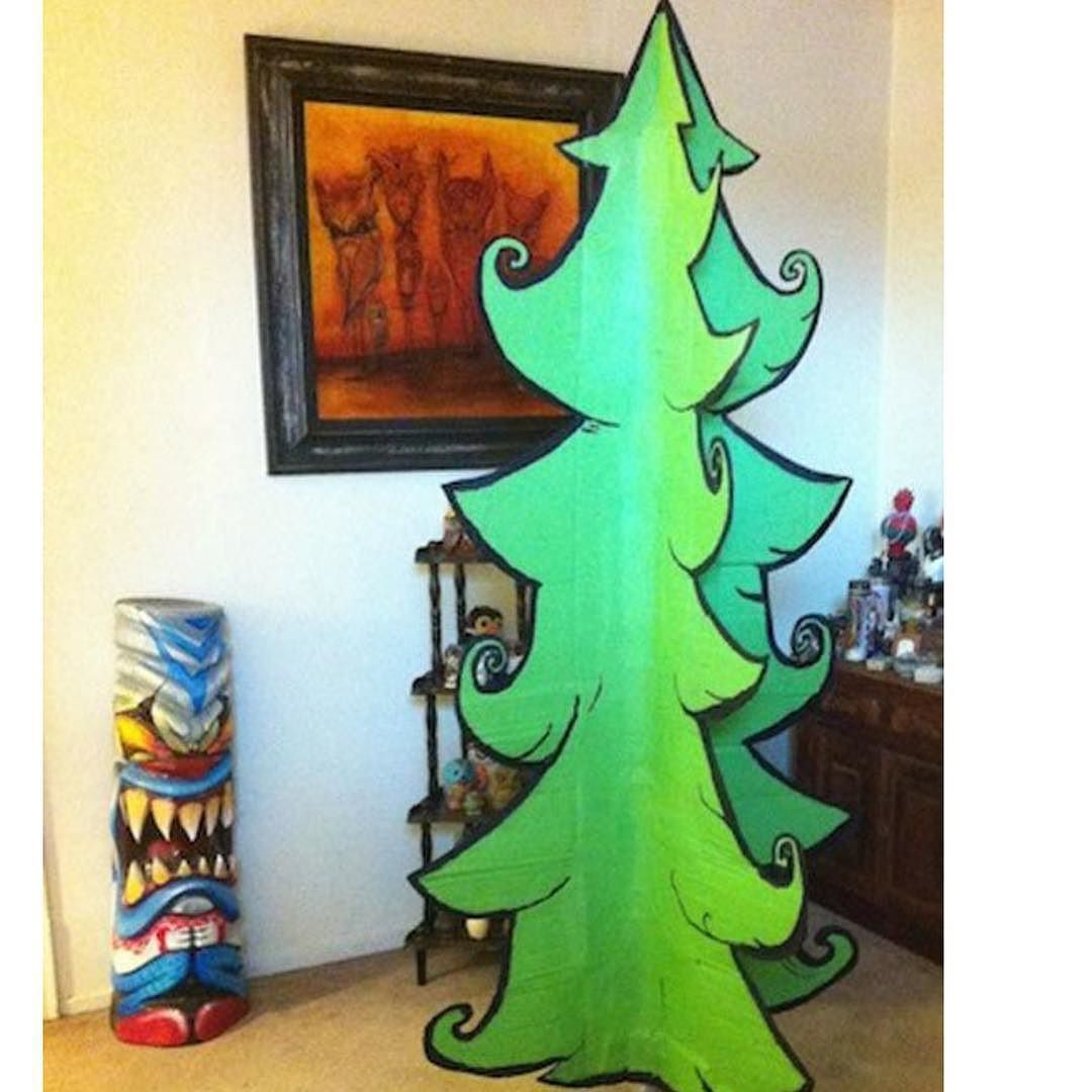 Page Not Found Grinch Christmas Decorations Cartoon Christmas Tree Cardboard Christmas Tree