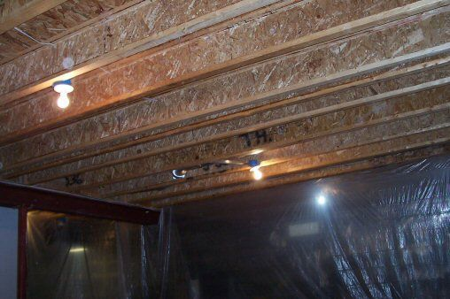 Interesting Basement Ceiling Ideas On A Budget Paint With Exposed Joists For An Industrial Look Inspiration