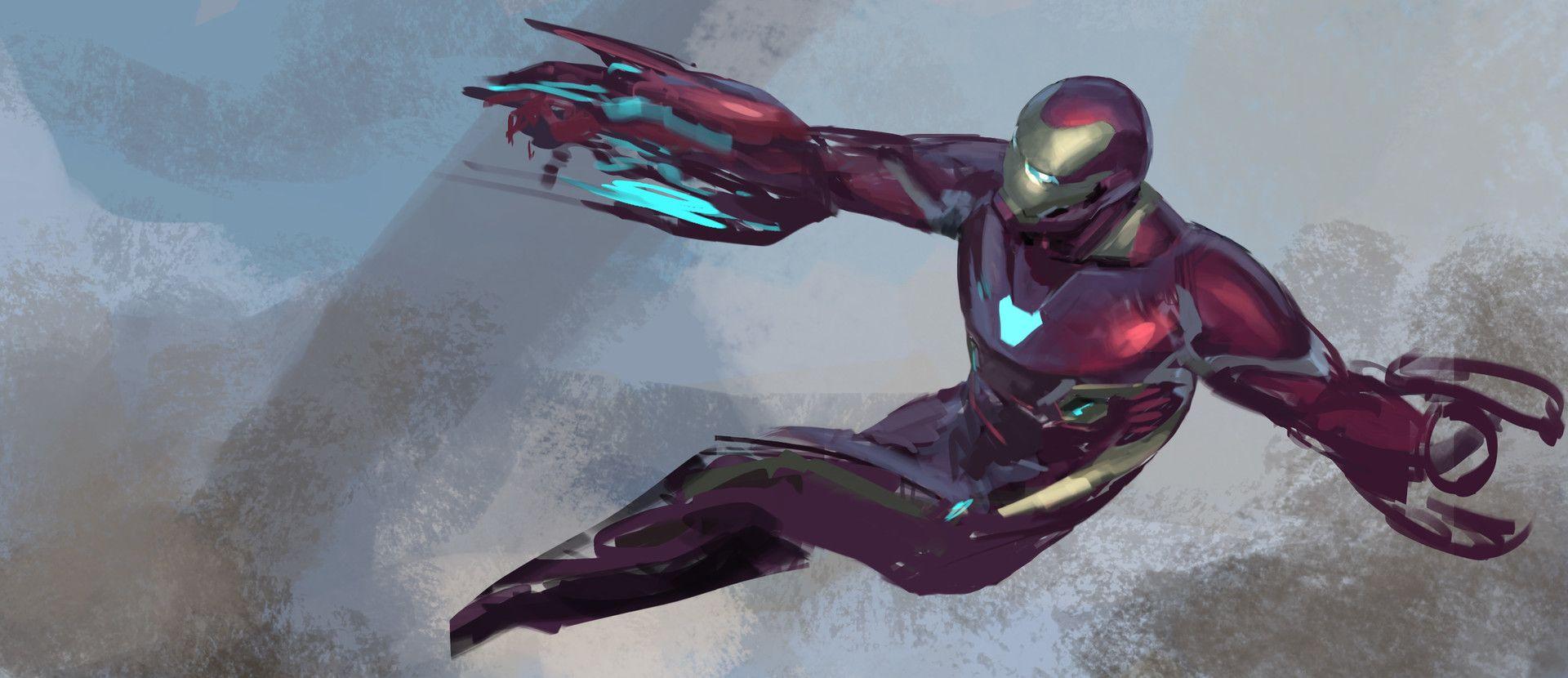 Artstation Avengers Infinity War Iron Man Mk50 On Titan Keyframe Phil Saunders Iron Man Poster Iron Man Avengers Iron Man Artwork
